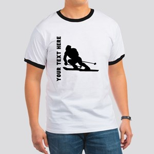 Skier (Custom) T-Shirt