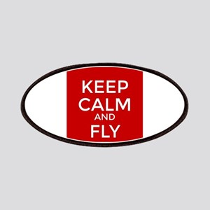 Keep Calm and Fly On Patch