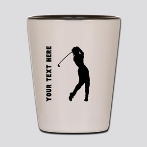 Golf Swing (Custom) Shot Glass