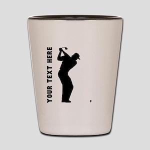 Golf Shot (Custom) Shot Glass