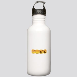 Words With F_CK Stainless Water Bottle 1.0L
