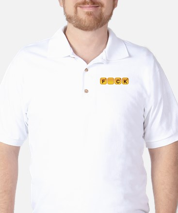 Words With F_CK Golf Shirt