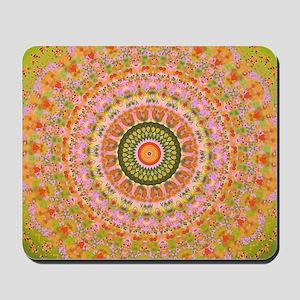 Happy Hippy Mandala Mousepad