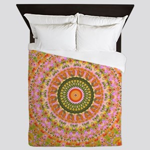 Happy Hippy Mandala Queen Duvet