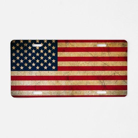 Cute Arizona flag Aluminum License Plate