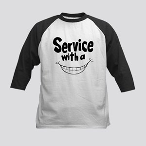 Service with a smile Baseball Jersey