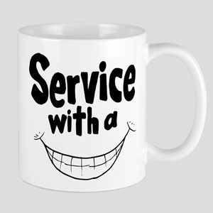Service with a smile Mugs