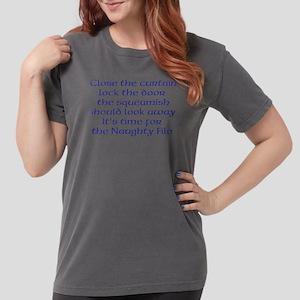 Naughty File Womens Comfort Colors Shirt
