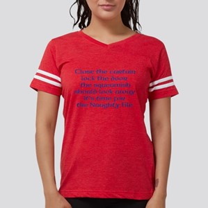 Naughty File Womens Football Shirt