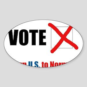 Return U.S. to Normalcy Sticker