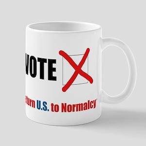 Return U.S. to Normalcy Mugs