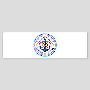 Monaco Yacht Club Bumper Sticker
