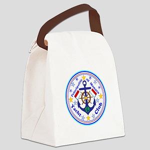 Monaco Yacht Club Canvas Lunch Bag