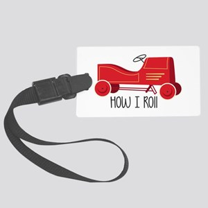 How I Roll Luggage Tag