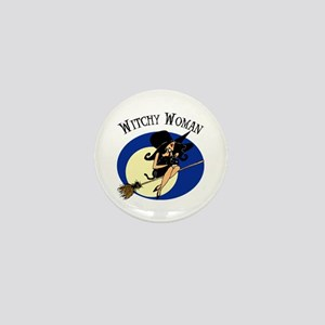 Witchy Woman Mini Button
