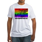 Fight OUT Loud Fitted T-Shirt