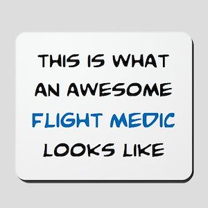 awesome flight medic Mousepad