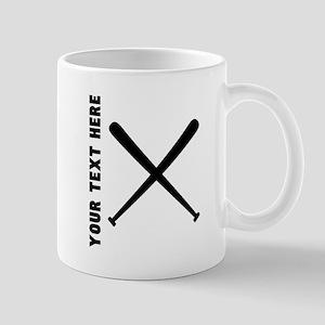 Baseball Bats (Custom) Mugs