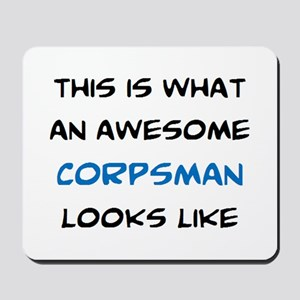 awesome corpsman Mousepad