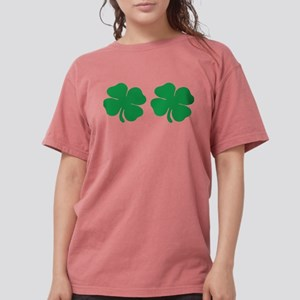 shamrock boobs Womens Comfort Colors Shirt