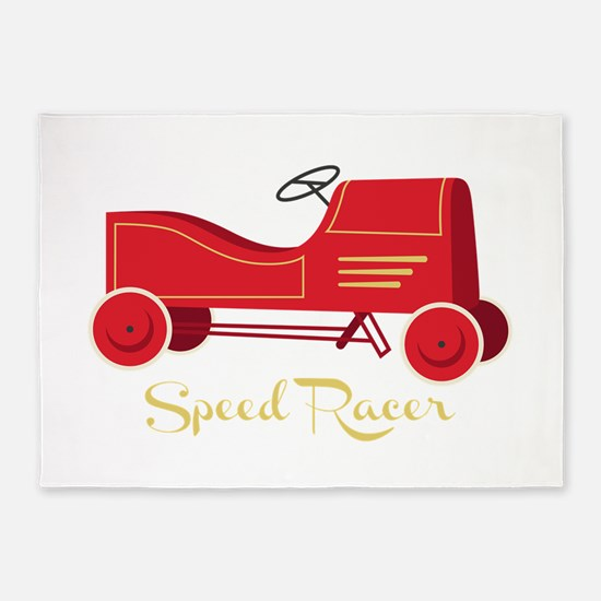Speed Racer 5'x7'Area Rug