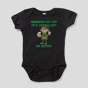 Funny St. Patricks Day Baby Bodysuit