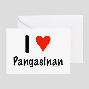 I love Pangasinan Greeting Card