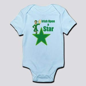 Irish upon a star Baby Light Bodysuit