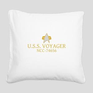 Star Trek: VOY Ship Name Square Canvas Pillow