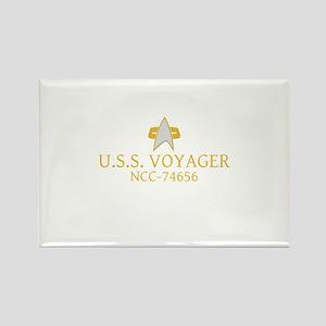 Star Trek: VOY Ship Name Rectangle Magnet