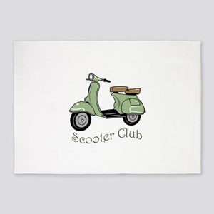 Scooter Club 5'x7'Area Rug