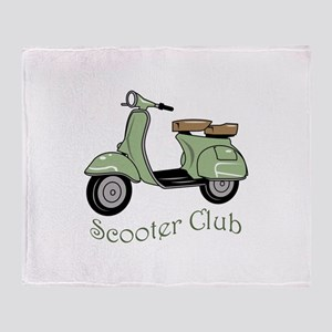 Scooter Club Throw Blanket