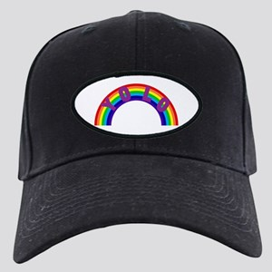 Yolo Rainbow Black Cap with Patch