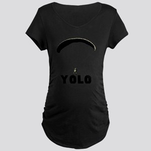 Yolo Maternity Dark T-Shirt