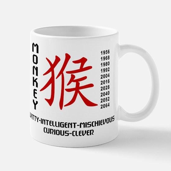 Chinese Zodiac Monkey Characteristics Mug