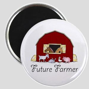 Future Farmer Barnyard Magnet