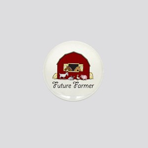 Future Farmer Barnyard Mini Button