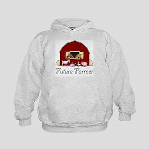 Future Farmer Barnyard Kids Hoodie