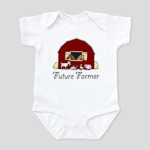 Future Farmer Barnyard Infant Bodysuit