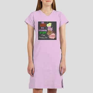 Women's Nightshirt Patchwork