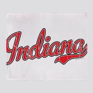 Indiana Vintage Throw Blanket
