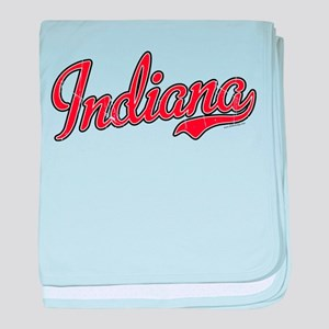 Indiana Vintage baby blanket
