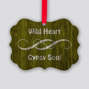 WILD HEART Ornament
