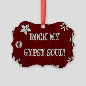 ROCK MY... Picture Ornament