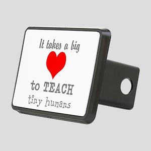 Teachers Heart Hitch Cover
