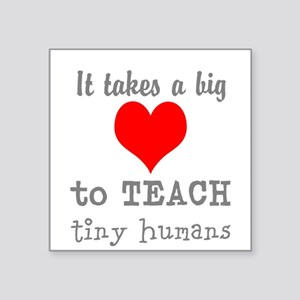 Teachers Heart Sticker