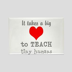 Teachers Heart Magnets