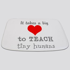 Teachers Heart Bathmat