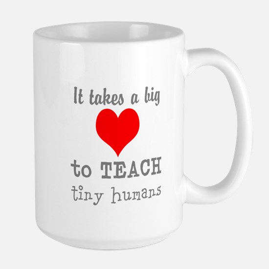 Teachers Heart Mugs
