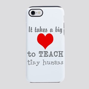Teachers Heart iPhone 8/7 Tough Case